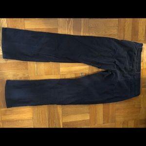 Gap black corduroy pants